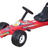 Masinuta mare cu pedale / Cart (OFERTA), Unisex, Rosu