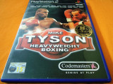 Joc Mike Tyson Heavyweight Boxing, PS2, original, alte sute de jocuri!, Sporturi, 16+, Multiplayer, Codemasters
