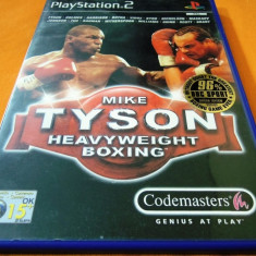 Joc Mike Tyson Heavyweight Boxing, PS2, original, alte sute de jocuri! - Jocuri PS2 Codemasters, Sporturi, 16+, Multiplayer