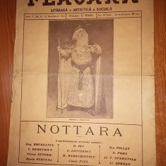 revista flacara 12 decembrie 1915-actorul constantin nottara in regele lear