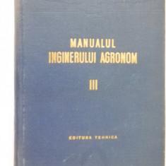 MANUALUL INGINERULUI AGRONOM VOL 3 - Carti Zootehnie