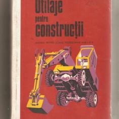 Utilaje pentru Constructii-manual anul I si II, Alta editura