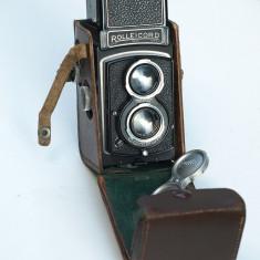 Aparat foto 6x6 Rolleicord - Aparat Foto cu Film Rollei
