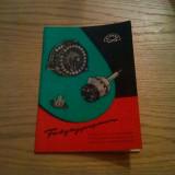 VEB ELEKTRO UND RADIOZUBEHOR  DORFHAIN * ELRADO  * Export - Katalog 1955