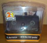 Boxe 2.1 A4Tech AV-100 Stereo USB 2.2 W, 0-40W