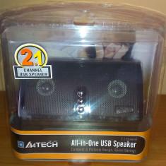 Boxe 2.1 A4Tech AV-100 Stereo USB 2.2 W
