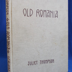JULIET THOMPSON - OLD ROMANIA ( ALBUM ROMANIA ) - NEW YORK - 1939
