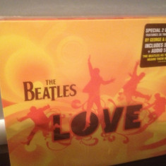 THE BEATLES - LOVE(2006/PARLAPHONE REC)-(CD A+ DVD) - BOXdeluxe ed. NOU/SIGILAT - Muzica Rock emi records