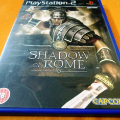 Joc Shadow of Rome, PS2, original, 24.99 lei(gamestore)! Alte sute de jocuri! - Jocuri PS2 Capcom, Actiune, 16+, Single player