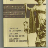ROMANIA 10  LEI 2010  HARICLEA  DARCLEE , 150 Ani Nastere ,  AG  cert BNR nr 929