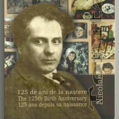 10 LEI 2011, NICOLAE TONITZA, 125 de ani - nastere, ARGINT, certificat BNR - Moneda Romania