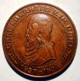 7.312 JETON SPARKASSE GRAF EBERHARD V. IM BART 26mm