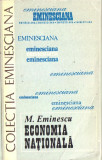 Mihai Eminescu-Economia nationala