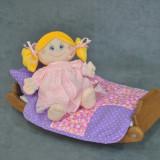 Papusa deosebita pentru fetite - cadou fetite, Textil