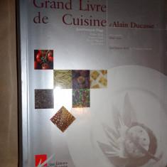 Grand livre de cuisine carte de bucate - Alain Ducasse