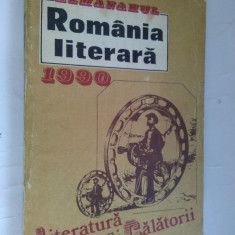 ALMANAHUL ROMANIA LITERARA - 1990