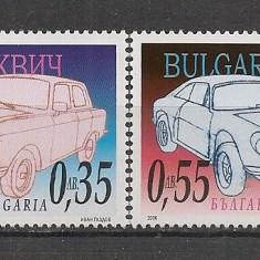 Bulgaria.2006 Automobile SB.607 - Timbre straine
