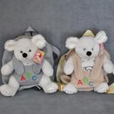 Rucsac copii soricel - jucarie 2 in 1, rucas si jucarie de plus detasabila