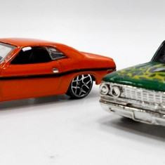 HOT WHEELS -REGULAR -SCARA 1/64 -LOT DODGE +FORD -++2501 LICITATII !! - Macheta auto