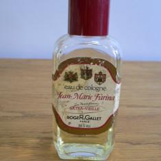 JEAN MARIE FARINA DE ROGER GALLET APA DE COLONIE FLACON DE 100 ML RAMAS CAM 80 ML / PARFUMURI VINTAGE - Parfum femeie Jean Paul Gaultier