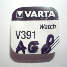 Baterie ceas Varta, cu argint AG8-LR1120-G8-SR55-391-381-SR1120SW.