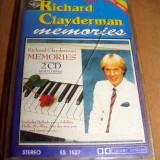 RICHARD CLAYDERMAN - Memories / Caseta Audio