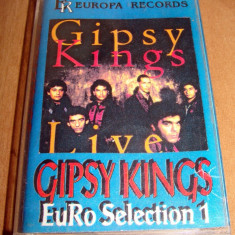 GIPSY KINGS - Best of - Muzica Pop emi records, Casete audio