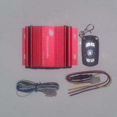 Mini statie auto 4x15 W cu telecomanda, permite intrare de Stick, Card micro SD - Amplificator auto