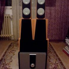 Sistem audio Home Cinema 5.1 putere reala 200W subwoofer de 100W 20kg - Boxe PC, 121-160W, In Subwoofer