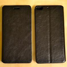 Husa ALLVIEW X1 SOUL Flip Case Slim Black - Husa Telefon Allview, Negru, Piele Ecologica, Cu clapeta, Toc