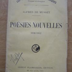 Alfred de Musset - Poesies nouvelles (lb. franceza) - Carte veche
