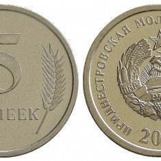 TRANSNISTRIA 5 kOPEICI 2000 UNC, Europa
