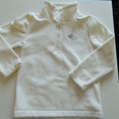 Bluza pentru copii iarna, C&A, marimea 122, 6-8 ani, de ski, termo, antifrig, Marime: 30, Culoare: Alb, Fete