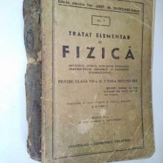Tratat elementar de FIZICA - Cugetarea- Georgescu Delafras 1943 ( ed. a VI-a) - Carte Fizica