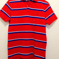 Tricou rosu bumbac Ralph Lauren 100% original Spania - Tricou barbati Ralph Lauren, Marime: S, Maneca scurta