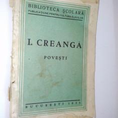 Ion Creanga - POVESTI - Bucuresti 1935 - Atelierele