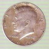 Moneda-1/2 half dolar 1966 argint, America de Nord