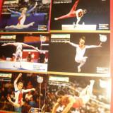 Set 6 Ilustrate Campioni Olimpici Gimnastica -Romania
