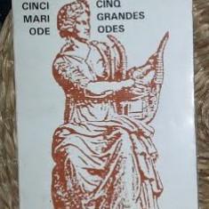 P Claudel Cinci mari ode. Ed. Bilingva, Graisisuflet 1994 - Carte poezie