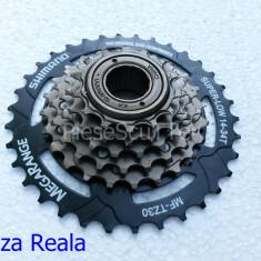 Grup -  Bloc Pinion -  Pinioane 6 viteze - pinioane Bicicleta Shimano MF-TZ30