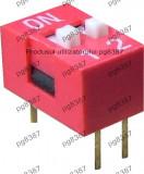 Intrerupator miniatura, x2 - 2 pozitii - 125700