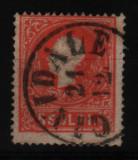 1858 austria mi. 9 I stampilat