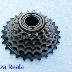 Grup / Bloc Pinion / Pinioane 6 viteze / pinioane Bicicleta Shimano MF-TZ20