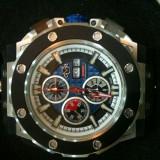 Ceas barbatesc lux GV2 8802, Lux - sport, Mecanic-Automatic, Inox, Cauciuc, Cronograf