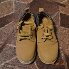 Pantofiori bej - Pantofi copii, Marime: 34, Unisex, Piele sintetica