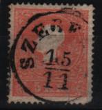 1858 austria mi. 13 I stampilat