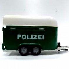 SIKU-SCARA 1/55 -REMORCA POLIZEI - ++2501 LICITATII !! - Macheta auto Maisto