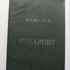 Pasaport Romania RSR emis in 1991 file cu stema veche, Romania de la 1950, Pasapoarte