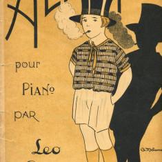 217 PARTITURA antebelica - ALIN-TANGO -pentru pian -de LEO GEO -starea care se vede
