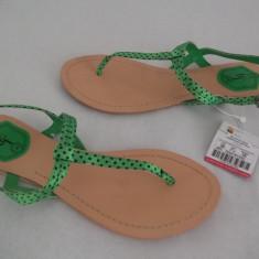 Sandale Zara reducere! - Sandale dama Zara, Culoare: Roz, Verde, Marime: 38, 40, Verde